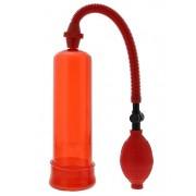 Вакуумная помпа Penis Enlarger Red, красный