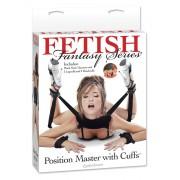 Фиксатор для рук и ног Fetish Fantasy Series Position Master With Cuffs, черный