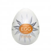 Мастурбатор-яйцо SHINY, молочный