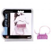 Эрекционное кольцо с вибратором LITTLE LILAC, фиолетовый