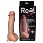 Гигантский фаллоимитатор на присоске REAL Next №31 - 23,5 см., телесный