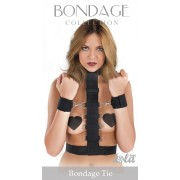 Фиксатор рук к груди Bondage Collection Bondage Tie One Size, черный