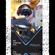 Карта оплаты доступа Fibrum Лучшие VR-аттракционы