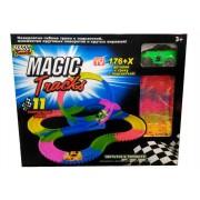 Святящаяся трасса Волшебная дорога с машинкой Magic Tracks 236 деталей, с подсветкой, с кольцевой дорогой