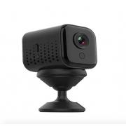 Беспроводная Wi-Fi Мини IP-камера A12 ночного видения (Черная)