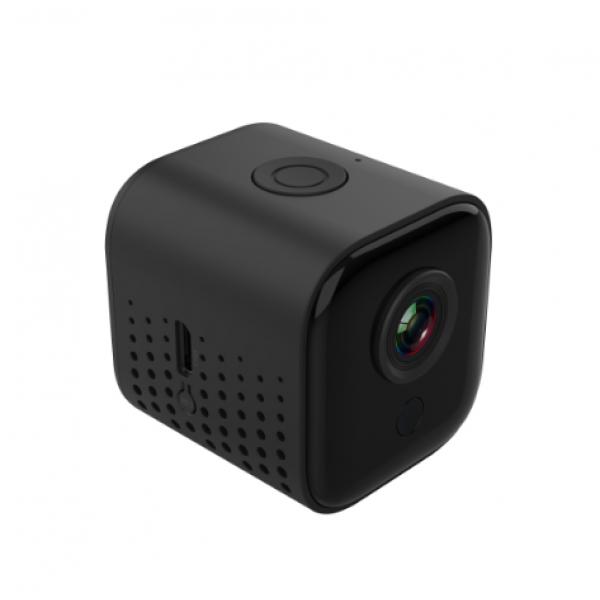 Беспроводная Wi-Fi Мини IP-камера A11 ночного видения (Черная)