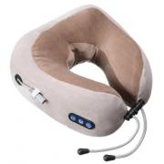 Подушка для шеи с встроенным массажером U-Shaped massge pillow