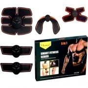 Пояс электростимуятор для мышц пресса и рук Smart Fitness Series 5 in 1