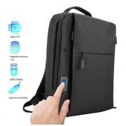 Умный рюкзак Fipilock FL-V4 с встроенным смарт-замком отпечатков пальцев (Черный)