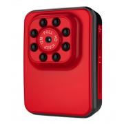 Спортивная камера R3 с поддержкой съемки видео 1080 P (Красная)