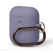 Чехол с карабином Elago AirPods 2 Hang Case (Фиолетовый)