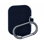 Чехол с карабином Elago AirPods 2 Hang Case (Темно-синий)
