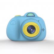 Детская цифровая мини камера фотоаппарат (Голубая)