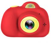 Детский цифровой фотоаппарат мини камера (Красная)