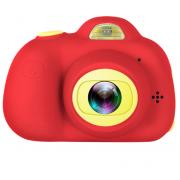 Детская цифровая мини камера фотоаппарат (Красная)