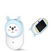 Детская цифровая мини камера фотоаппарат Милый кролик (Голубой)