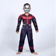 """Детский маскарадный костюм супергероя с мускулами """"Человек Муравей"""" размер L"""