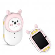 Детская цифровая мини камера фотоаппарат Милый кролик (Розовый)