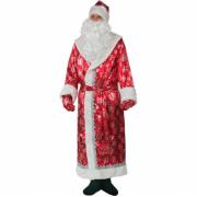 Карнавальный костюм Дед Мороз (Красный)