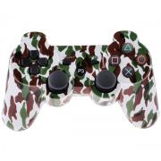 Беспроводной Bluetooth контроллер для SONY DUALSHOCK 3 для PlayStation 3 (Белый камуфляж)