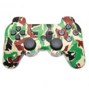 Беспроводной Bluetooth контроллер для SONY DUALSHOCK 3 для PlayStation 3 (Зеленый камуфляж)