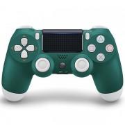 Беспроводной Bluetooth контроллер DualShock 4 для PlayStation 4 (Бело-зеленый)