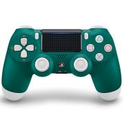 Беспроводной Bluetooth контроллер DualShock 4 для Sony PlayStation 4 (Бело-зеленый)