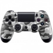 Беспроводной Bluetooth контроллер DualShock 4 для PlayStation 4 (Серый камуфляж)