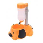 Фонтан питьевой воды с чашей для собак (Желтый)