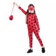 Карнавальный костюм Леди Баг с красной сумочкой размер S