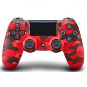 Беспроводной Bluetooth контроллер DualShock 4 для Sony PlayStation 4 (Красный камуфляж)