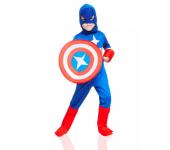 Карнавальный костюм Капитан Америка размер S