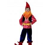 Карнавальный костюм Веселый Гном размер S