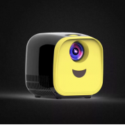 Мини-игрушечный видеопроектор Kids Toy L1 Series с интерфейсом USB (Черно-желтый)