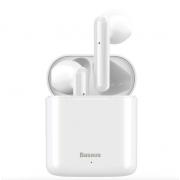Беспроводные Bluetooth наушники Baseus W09 (Белые)