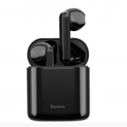 Беспроводные Bluetooth наушники Baseus W09 (Черные)