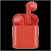 Беспроводные Bluetooth наушники Baseus W09 (Красные)