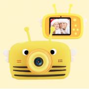 Детская цифровая камера Fun Camera View с селфи камерой (Желтая)