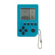 Мини игровая приставка брелок Game Box mini 26 игры (Голубая)