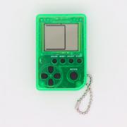 Мини игровая приставка брелок Game Box mini 26 игры (Прозрачно-зеленая)