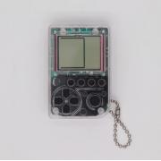 Мини игровая приставка брелок Game Box mini 26 игры (Прозрачно-серая)