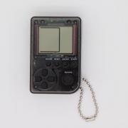 Мини игровая приставка брелок Game Box mini 26 игры (Прозрачно-черная)
