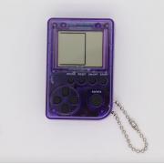 Мини игровая приставка брелок Game Box mini 26 игры (Прозрачно-фиолетовая)