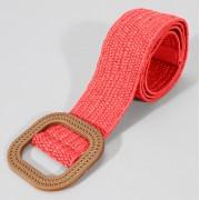 Винтажный ткацкий пояс с пряжкой (Красный)