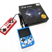 Портативная игровая приставка SUP 400в1 + джойстик (Синяя)