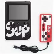 Портативная игровая приставка SUP 400в1 + джойстик (Черная)