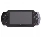 Портативная мини игровая консоль Video Games x6 8 ГБ памяти 4.3-дюймовый экран (Черная)