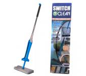 Самоотжимающаяся швабра лентяйка Switch N Clean (Синяя)