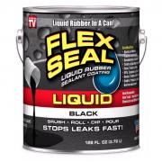 Водонепроницаемый клей-герметик Flex Seal Liquid 473 мл (Чёрный)