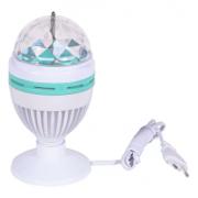Светодиодная LED диско-лампа с подставкой и шнуром